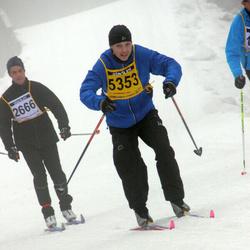 Finlandia-hiihto - Hannu Rantakömi (2666), Arttu Hyyrynen (5353)
