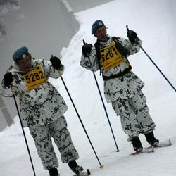 Finlandia-hiihto - Pentti Tienhaara (5281), Erkki Turunen (5282)