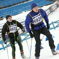 Finlandia-hiihto - Jouni Hirvioja (6928), Tommi Suutarinen (6932)
