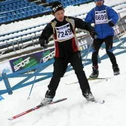 Finlandia-hiihto - Henri Sipilä (6699), Tapio Sippola (7249)