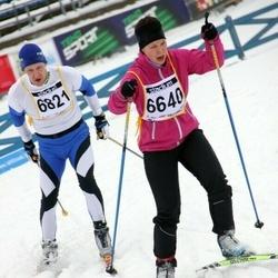 Finlandia-hiihto - Janita Jäntti (6640), Markku Hietala (6821)