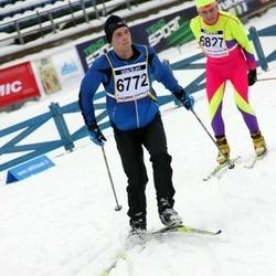 Finlandia-hiihto - Timo Jaakkola (6772), Heikki Vettensaari (6827)