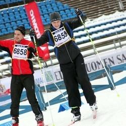 Finlandia-hiihto - Jami Nyman (6858), Pietari Salminen (6859)