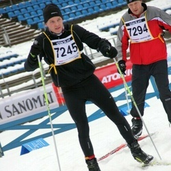 Finlandia-hiihto - Jukka Taskinen (7245), Pertti Suovesi (7294)