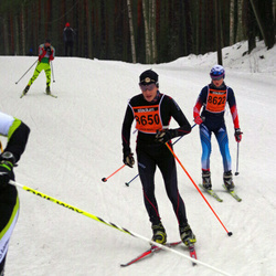 Finlandia-hiihto - Artem Melentev (8622), Eetu Härkönen (8650)