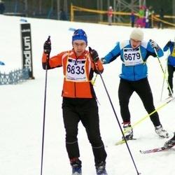 Finlandia-hiihto - Joel Huuhtanen (6679), Rainer Punga (6835)