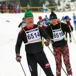 Finlandia-hiihto - Tiina Virtanen (6510), Roger Olsson (6514)