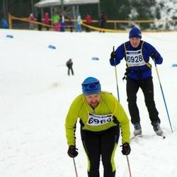 Finlandia-hiihto - Jouni Hirvioja (6928), Tony Björk (6960)