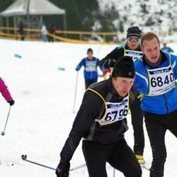 Finlandia-hiihto - Tero Uusitalo (6798), Jouko Hyttinen (6840)