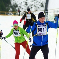 Finlandia-hiihto - Brigitte Gerber (6665), Janne Rauhala (6810)