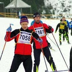 Finlandia-hiihto - Pekka Petäjä (7058), Pasi Järvinen (7161)