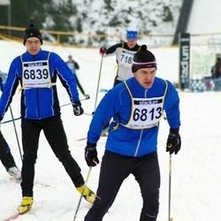 Finlandia-hiihto - Kim Kilponen (6813), Matti Sipilä (6839)