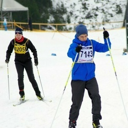 Finlandia-hiihto - Juha Kauppi (7143), Soile Nokelainen (8205)