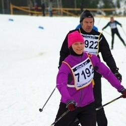 Finlandia-hiihto - Jouko Ahola (6922), Mari Seppänen (7192)