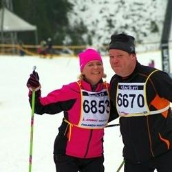 Finlandia-hiihto - Toni Ruohonen (6670), Tiina Perämäki (6853)