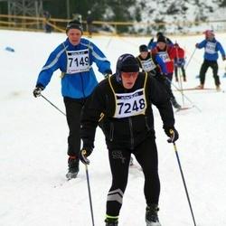 Finlandia-hiihto - Ossi Munukka (7149), Veli-Matti Nopanen (7248)