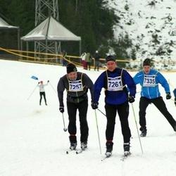 Finlandia-hiihto - Staffan Söderström (7257), Kimmo Järvinen (7261), Mika Toivola (7335)