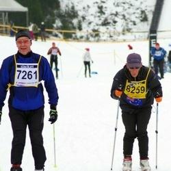 Finlandia-hiihto - Kimmo Järvinen (7261), Bruce Wharrie (8259)