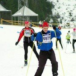 Finlandia-hiihto - Mikael Meriluoto (6979), Kimmo Akkanen (7202)
