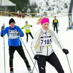 Finlandia-hiihto - Niko Koukkari (7129), Elina Sohlberg (7185)