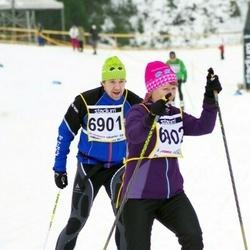Finlandia-hiihto - Juha Kuusisto (6901), Sanna Kuusisto (6902)