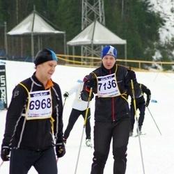 Finlandia-hiihto - Teppo Väliniemi (6968), Mika Svartsjö (7136)