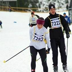 Finlandia-hiihto - Iiro Mäkitalo (7222), Päivi Lindahl (7282)