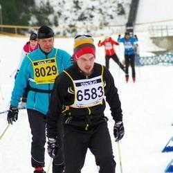 Finlandia-hiihto - Tero Tetri (6583), Pertti Seppinen (8029)