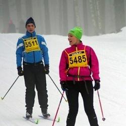 Finlandia-hiihto - Mari Pyykkönen (5485), Timo Lamminmäki (5511)