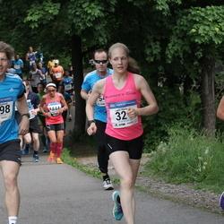 Helsinki Half Marathon - Laura Hievanen (321), Robert Sjölund (1398), Julia Venesmaa (1628)