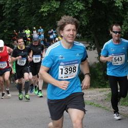 Helsinki Half Marathon - Juho Kauppi (543), Robert Sjölund (1398)