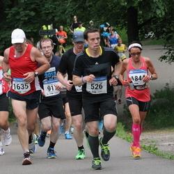 Helsinki Half Marathon - Fredrik Karlsson (526), Roberto Carlos Medeiros Lima (879), Heikki Vesalainen (1635), Arja Pitkänen (1844)