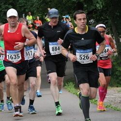 Helsinki Half Marathon - Fredrik Karlsson (526), Janne Mela (884), Heikki Vesalainen (1635)