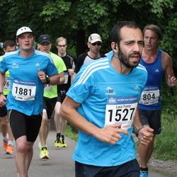Helsinki Half Marathon - Luca Trotta (1527), Maunu Anhava (1881)
