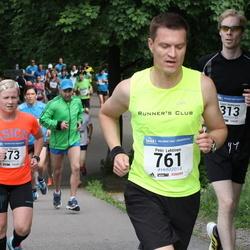 Helsinki Half Marathon - Lauri Hiekkanen (313), Petri Lehtinen (761)