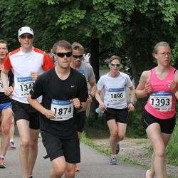 Helsinki Half Marathon - Kaija Sivonen (1393), Mitch Tolo (1874), Johanna Partti (1896)