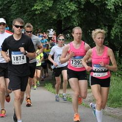 Helsinki Half Marathon - Kaija Sivonen (1393), Mitch Tolo (1874)