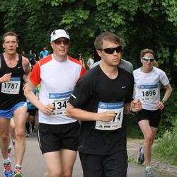 Helsinki Half Marathon - Mika Savolainen (1342), Joni Kokkonen (1787), Mitch Tolo (1874)