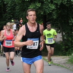Helsinki Half Marathon - Guillermo Moraleda (915), Joni Kokkonen (1787), Julia Lappalainen (1800)