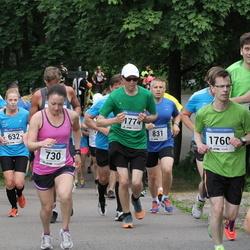 Helsinki Half Marathon - Natella Lalayants (730), Jussi Lyytinen (831), Kimmo Huhtimo (1760), Antti Jylhä-Ollila (1774)