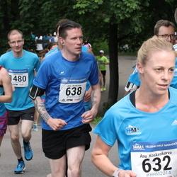 Helsinki Half Marathon - Jani Koskinen (638), Sami Peltola (1101), Anna-Riitta Vuorenmaa (1709)