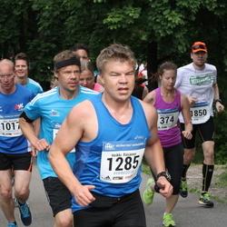 Helsinki Half Marathon - Maija Hynninen (374), Mika Nylander (1017), Heikki Räsänen (1285), Riku Pääkkönen (1850)