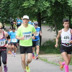 Helsinki Half Marathon - Heidi Du Plessis (157), Arja Kajanki (486), Juhana J. Idänpään-Heikkilä (1885)