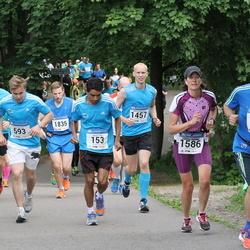 Helsinki Half Marathon - Suvash Dey (153), Per Evert Hellman (294), Erno Koivisto (593), Simo Syrjäläinen (1457), Pirjetta Waldén (1586)