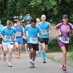 Helsinki Half Marathon - Suvash Dey (153), Jani Juntunen (457), Erno Koivisto (593), Pirjetta Waldén (1586), Antti Paavola (1835)