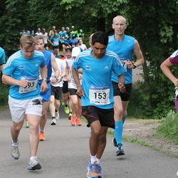 Helsinki Half Marathon - Suvash Dey (153), Pirjetta Waldén (1586)