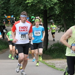 Helsinki Half Marathon - Jarno Kauhanen (699), Heikki Tuomela (1876)