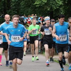 Helsinki Half Marathon - Kalevi Kurkijärvi (672), Jarkko Soronen (1413), Kimmo Valtanen (1597), Patrick Neumann (1913)
