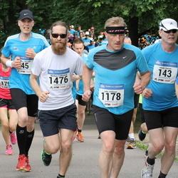 Helsinki Half Marathon - Juhani Damski (143), Federico Prato (1149), Juha Pölönen (1178), Markus Talikainen (1476)