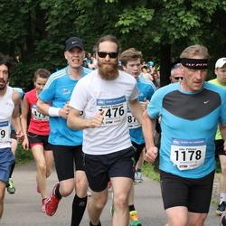 Helsinki Half Marathon - Federico Prato (1149), Juha Pölönen (1178), Markus Talikainen (1476)